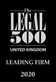 Leading Law Firm in The Legal 500 2020